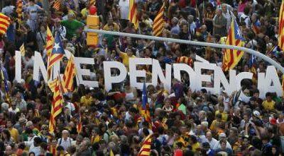 La Catalogna vuole la secessione dell'ora