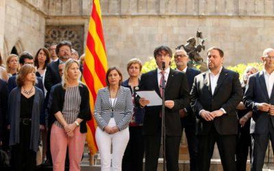 Il governo catalano: il primo ottobre referendum per l'indipendenza