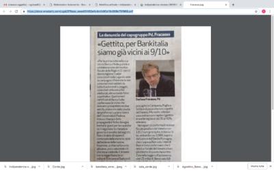 Gettito, per Bankitalia siam già vicini ai 9/10