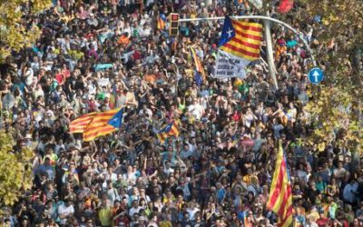 La Catalogna vota sì all'indipendenza