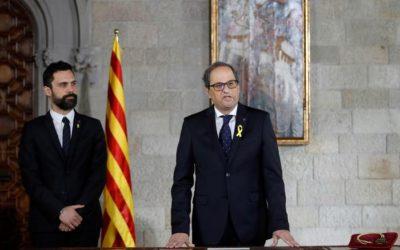 Catalogna: Torra sospende nuovo Governo