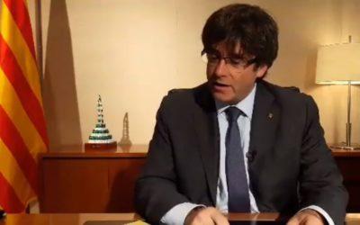 Video di Carles Puigdemont: la Catalogna dovrebbe avere il proprio esercito