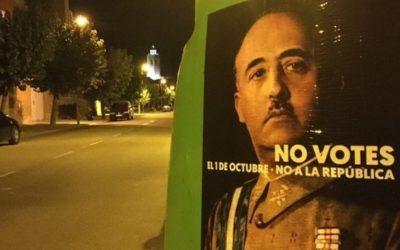 La campagna degli indipendentisti catalani.