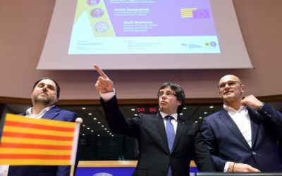 La Catalogna di Puigdemont a Bruxelles. L'indipendenza si avvicina