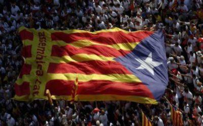 In migliaia per l'indipendenza catalana