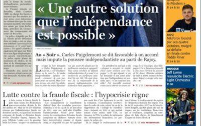 Cosa ha detto realmente Pudjemont riguardo una soluzione alternativa all'indipendenza