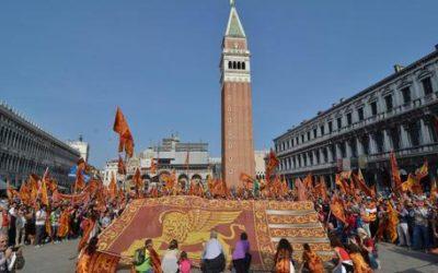 Veneto, 'bandiera S.Marco a nuovi nati'