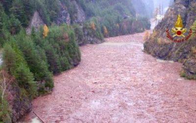 In Veneto, la devastazione dell'altopiano di Asiago