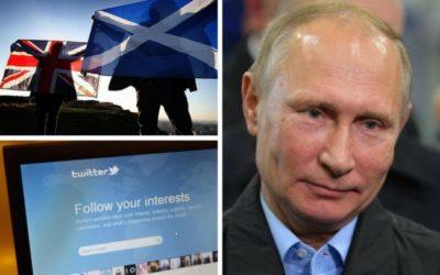 Interferenza russa nel dibattito sull'indipendenza della Scozia