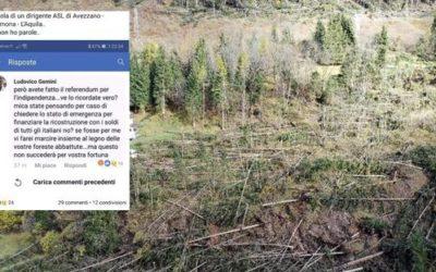 «Veneti marcite con i vostri alberi» Scatta la denuncia