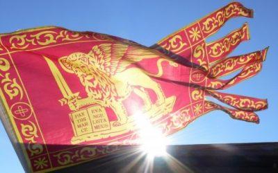 Padova, bandiera venetista vietata allo stadio: è bufera politica, La questura: «Solo vessilli di squadre o Tricolore».